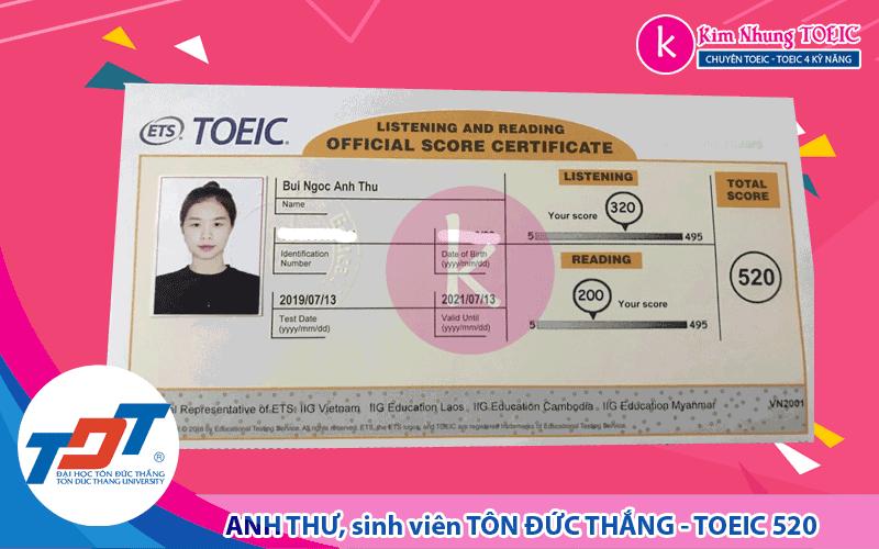 Bùi Ngọc Anh Thư - TDT