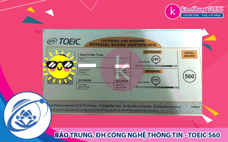 DANG VO BAO TRUNG -CNTT