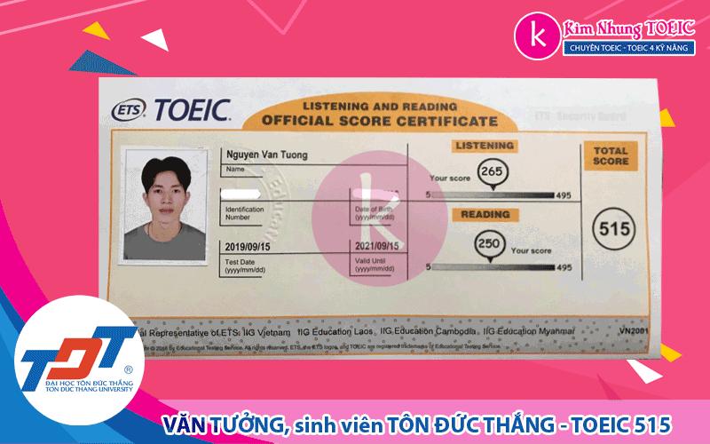 Nguyễn Văn Tưởng - TDT