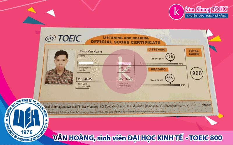 Phạm Văn Hoàng - KINH TẾ