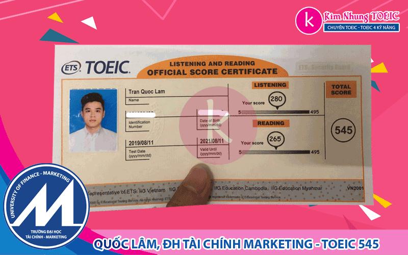 Trần Quốc Lâm - TCMKT