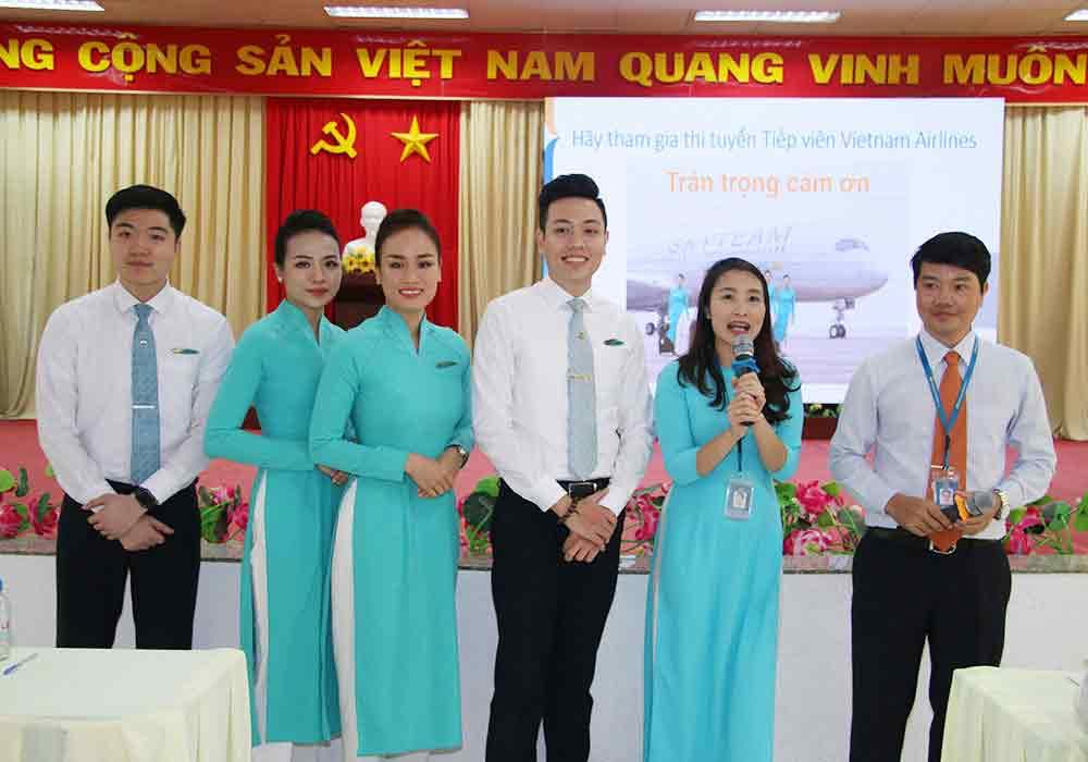 ảnh tiêu chuẩn tiếp viên vietnam airline