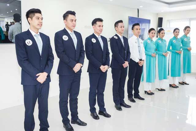 các tiếp viên hàng không vietnam airlines