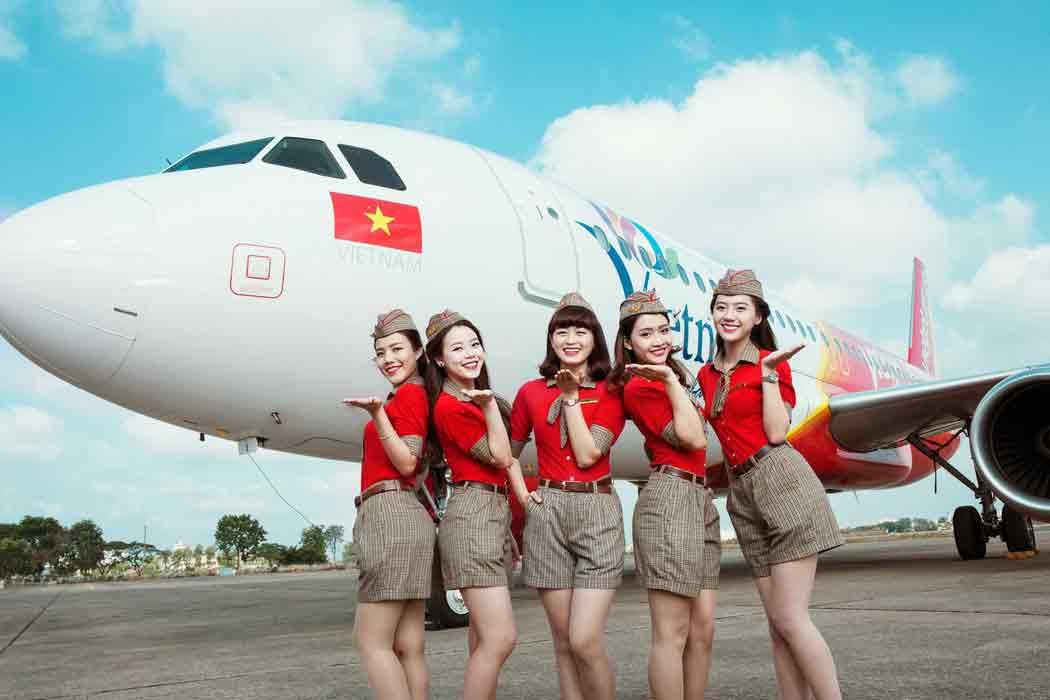 các tiêu chuẩn làm tiếp viên hàng không nữ