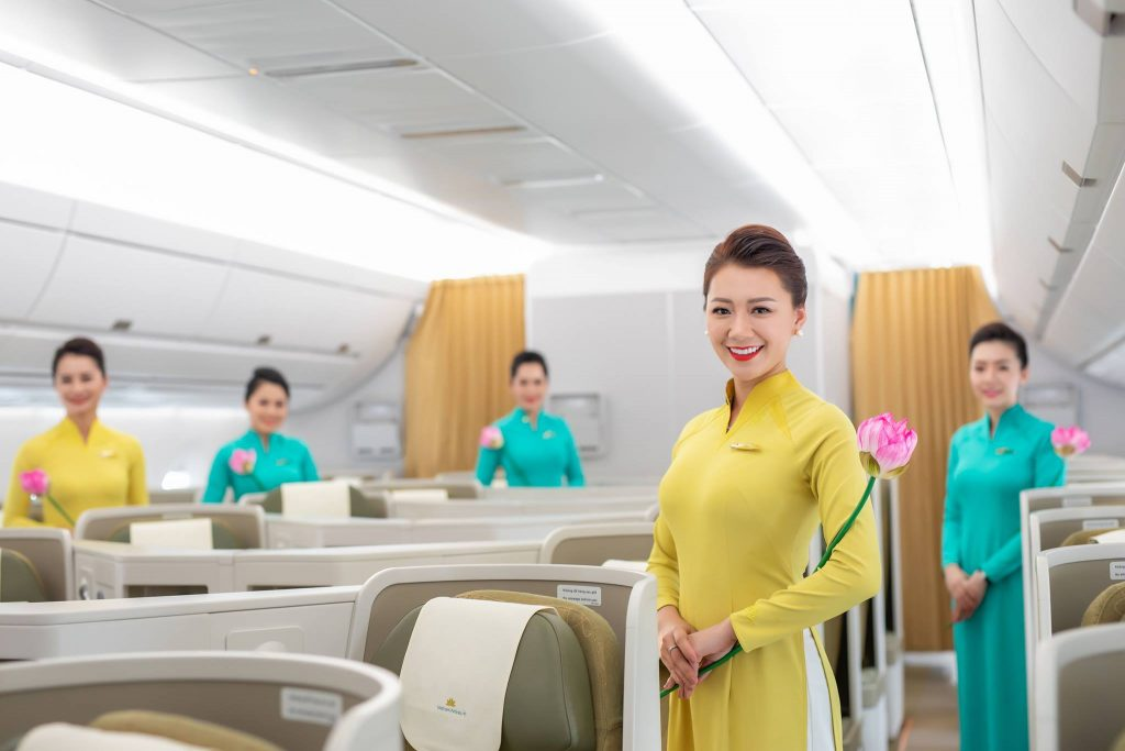 các tiêu chuẩn tiếp viên vietnam airline