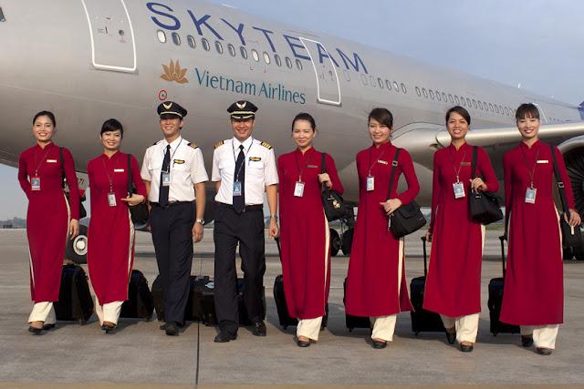 cách để trở thành tiếp viên hàng không