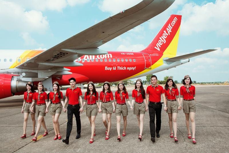 hình học làm tiếp viên hàng không