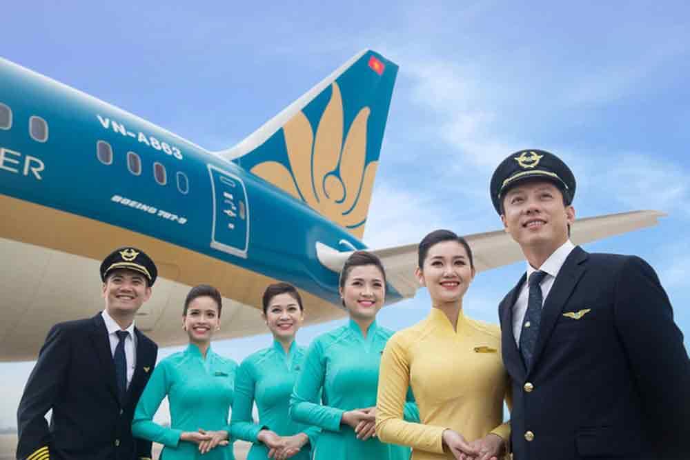 hình tiêu chuẩn tiếp viên hàng không
