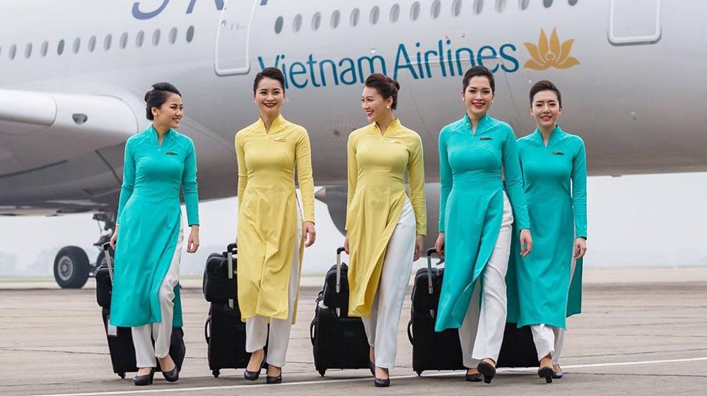 tiếp viên hàng không việt nam airline
