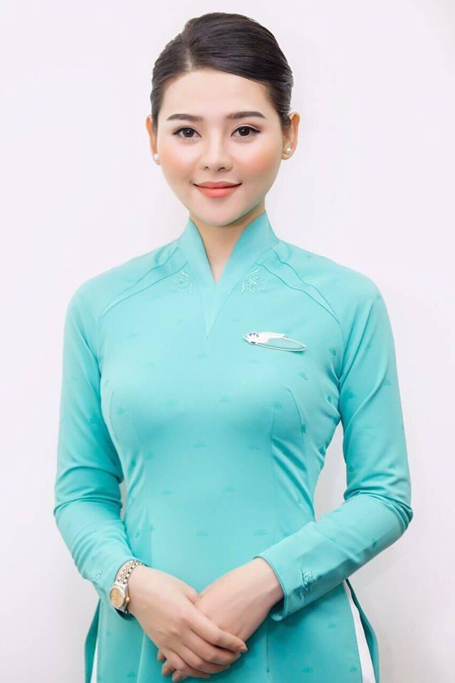 tiếp viên hàng không vietnam airline