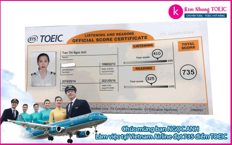 tran thi ngoc anh - vietnam airline
