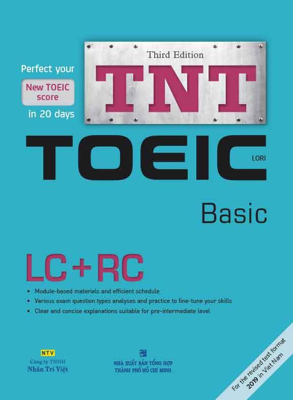 sách luyện thi toeic cơ bán TNT Toeic