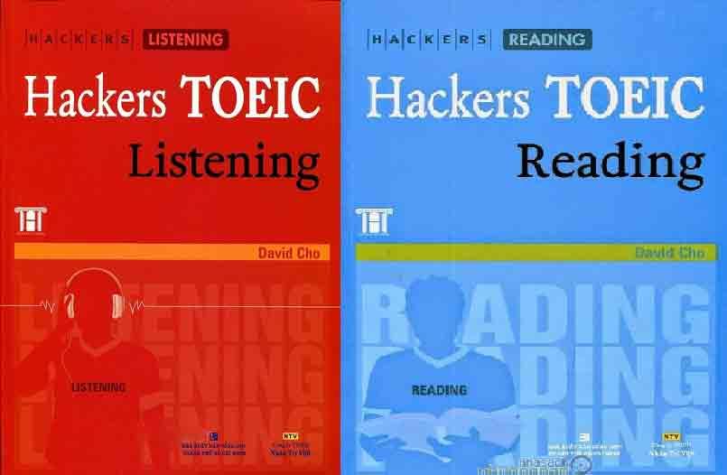 bộ sách luyện thi toeic hacker 123