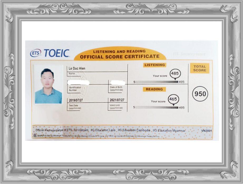 Thầy Hiền - TOEIC 950 điểm