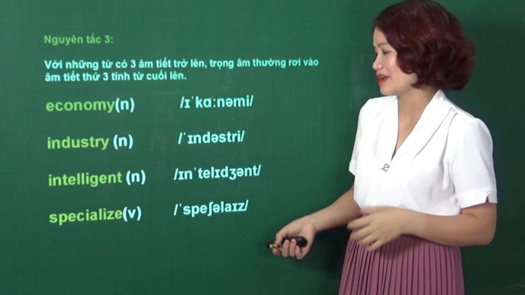 vai trò của trọng âm trong luyện thi toeic speaking
