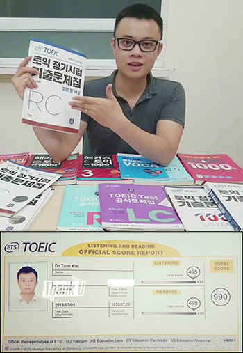 Thầy Kiệt TOEIC 990