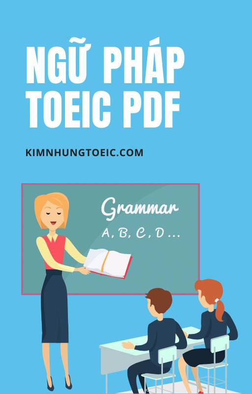 Ngữ Pháp TOEIC PDF