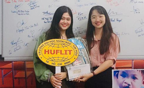 Lý Gia Linh, Sinh viên Huflit